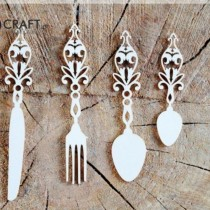 Chipboard - Cutlery Set -...
