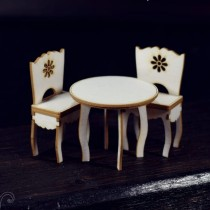 Chipboard - Round table...