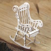 Chipboard - Rocking chair 3D