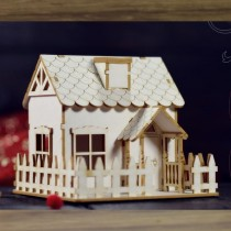 Chipboard 3D - Cottage House