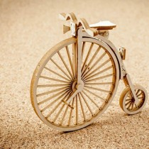 Chipboard - Retro Bicycle 3D