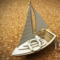 Chipboard - Sailboat 3D