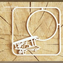 Chipboard - Frame with a plane