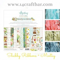 Shabby Ribbon Set with...
