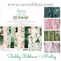 Shabby Ribbon Set with...