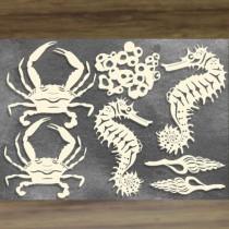 Chipboard – Sea Animals