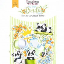 DIE CUT Elements - Panda...