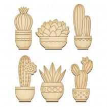 Wooden Embellishments - Set...