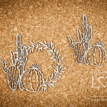 Chipboard - Cactuses and...