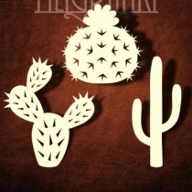 Chipboard - Cactuses set C