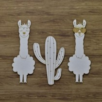 Chipboard - Llamas with...