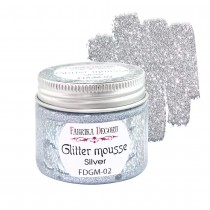 Glitter Mousse - SILVER 50ml