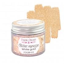 Glitter Mousse - WHITE GOLD...