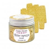 Glitter Mousse -  GOLD 50ml