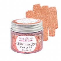 Glitter Mousse - PINK GOLD...