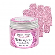 Glitter Mousse - PINK...