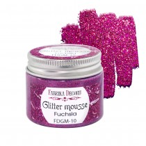 Glitter Mousse - FUCHSIA 50ml