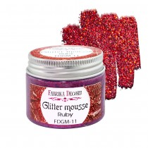 Glitter Mousse - RUBY 50ml