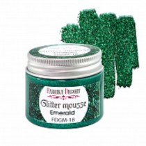 Glitter Mousse - EMERALD 50ml