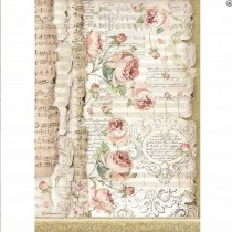 A4 Rice Paper - ROSES AND...