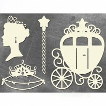 Chipboard - PRINCESS CARRIAGE