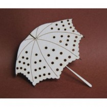 Chipboard - Lady's Umbrella