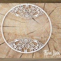 Chipboard - Round frame...
