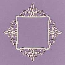 Chipboard - Baroque frame -...