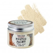 Rustic Paint - WHITE SAND 50ml
