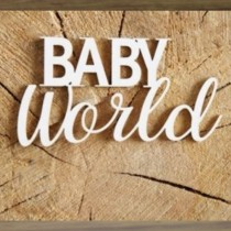 Chipboard - Baby World