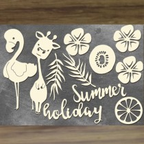 Chipboard - SUMMER HOLIDAY