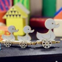 Chipboard - Mini Duck Train 3D