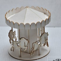 Chipboard - Carousel with...