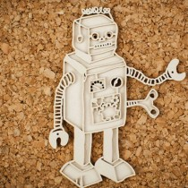 Chipboard - Layered Robot