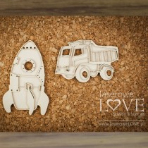 Chipboard - Layered Toys...