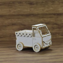 Chipboard - TRUCK TOY 3D