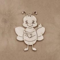 Chipboard - HAPPY BEE