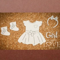 Chipboard   - Set for baby...