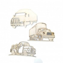 Chipboard - Trucks 3pcs