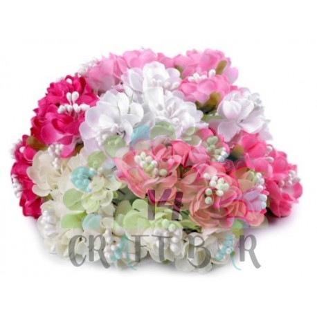 Artificial Flower on Wire /PINK