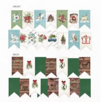 Paper die cut garland - The...