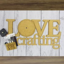 MDF - Clock – LOVE CRAFTING...