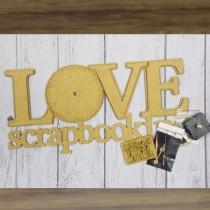 MDF - Clock – LOVE...