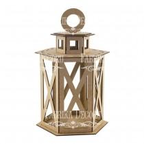 MDF - Rectangular Lantern...