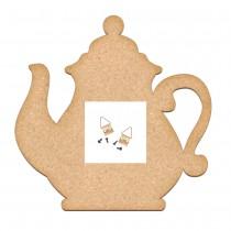 MDF - Artboard Teapot 25x25 cm