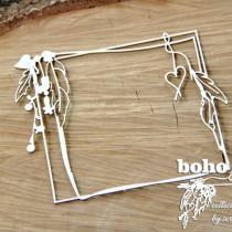 Chipboard- BOHO Square Frame