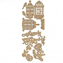 MDF - Set of cages and decors
