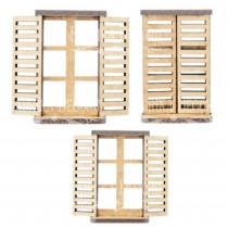 MDF - Set of windows and door