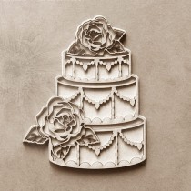 Chipboard - Layered Cake