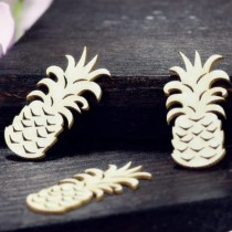 Chipboard - Pineapples 3pcs